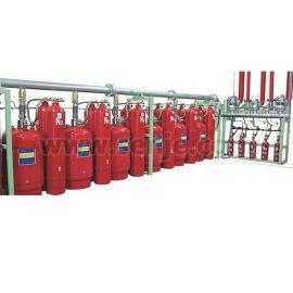 胜捷外贮压式七氟丙烷自动灭火系统QMQ4.2/90W型七氟丙烷高压气体灭火装置