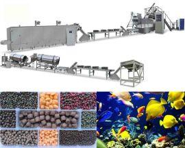 鱼饲料生产线全自动漂浮饲料生产线