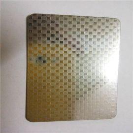 四川家用不锈钢橱柜用台面不锈钢板 304彩色压纹台面板