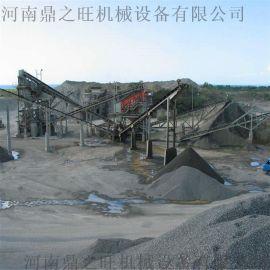石灰石制砂生产线设备 鹅卵石砂石生产线 米石生产线
