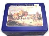 古典图案的饼干盒新品上市饼干铁盒环保饼干......