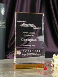 年度**教育机构奖  年度**培训机构奖  授权留学机构奖  水晶奖牌