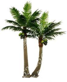 成都玻璃钢椰子树 假椰树 玻钢椰树 大王椰 海南椰生产批发
