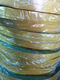 山东背胶绿绒包辊带