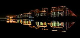 騰博光電閩海萬家夜景設計