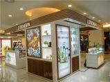 深圳厂家直销 木质烤漆化妆品展示柜 商场精品展示柜