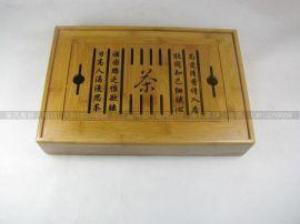 厂家低价定做茶具竹盒 礼品包装**竹盒 定制批发竹板包装盒