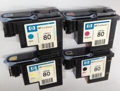 HP1050绘图仪HP1050C喷绘机打印头HP80