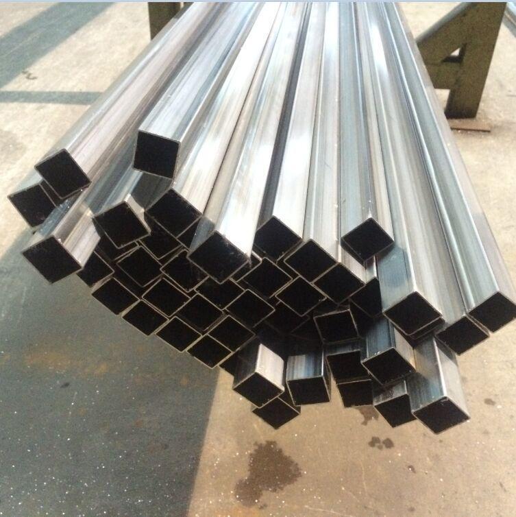 不锈钢焊管 **门工业流体不锈钢管 广州TP304不锈钢拉丝方管