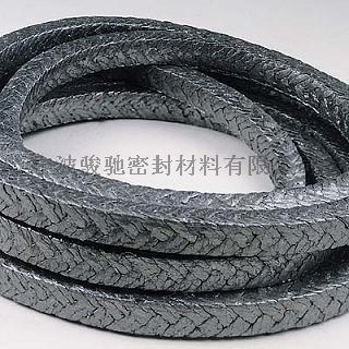 棉纖維+碳纖維增強石墨編織盤根