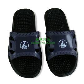 建博 防静电复合拖鞋洁净拖鞋无尘拖鞋黑色防静电工作鞋 防尘鞋