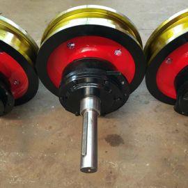 600150起重机轨车轮组 锻打轮子 整体调质耐磨轮组