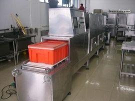 冷链盒饭微波加热机 新型冷链盒饭微波加热设备 专业厂家定做隧道式冷链盒饭微波加热机 批发价格