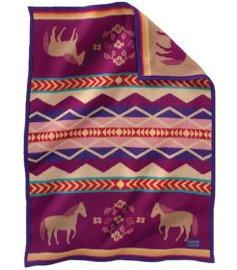 色织儿童双面绒棉毯NO.3211