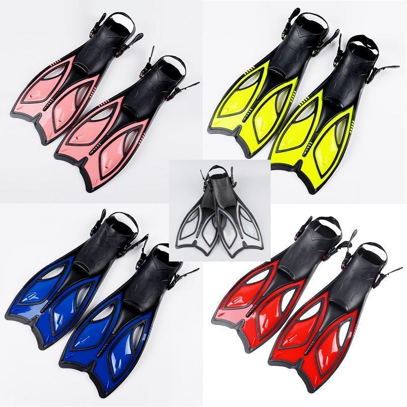 成人专业游泳训练装备 长脚蹼蛙鞋浮潜用品 柔韧鸭蹼潜水装备