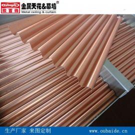 铝瓦楞复合板价格勾搭式铝合金瓦楞板厂家