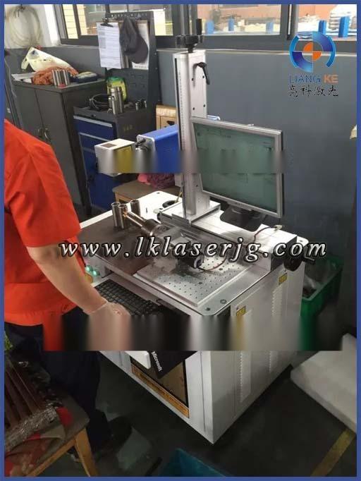 亮科LKF-100济南石油套管接箍激光雕刻机-金属模具刻字打标激光雕刻机