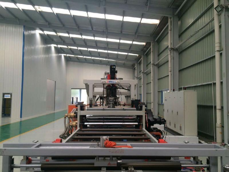 廠家銷售 PET聚酯片材設備 PETG流延片材生產線歡迎定製