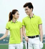 供應夏季時尚高爾夫工作服男式短袖T恤衫文化衫可定製印字LOGO