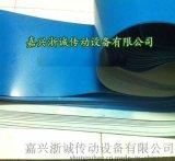 蓝色pvc食输送带