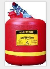 美国JUSTRITE 5加仑 实验室用聚乙烯安全罐存储罐90100908