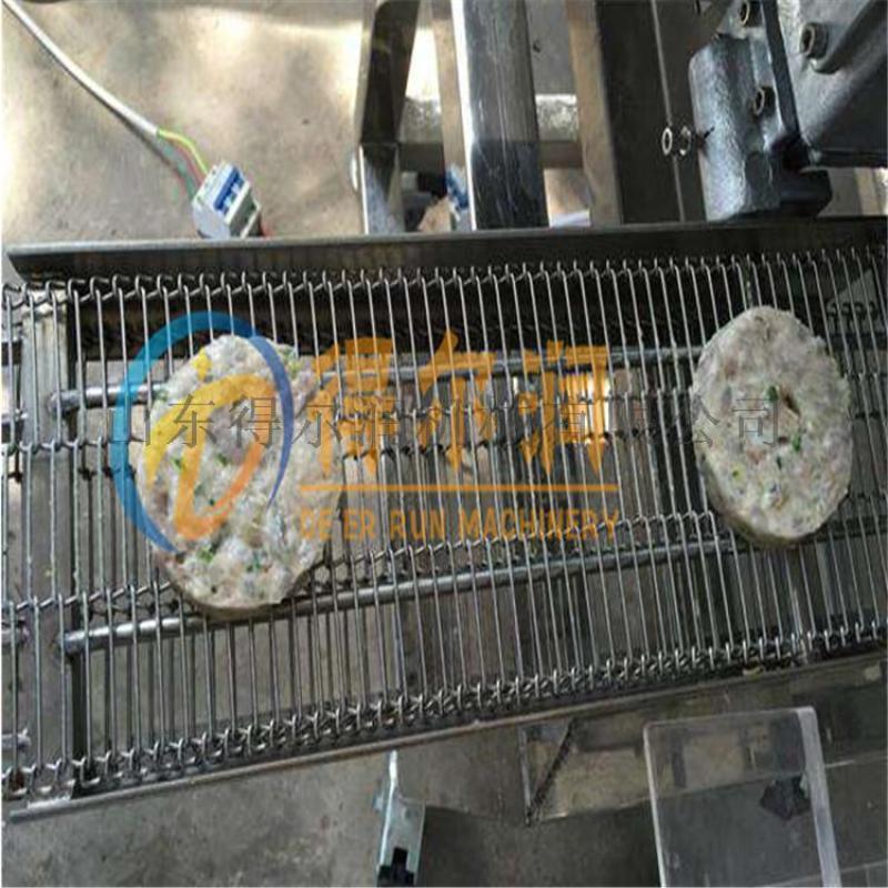 鲁FW大型薯饼裹糠机 BX薯饼成型裹糠设备-上糠机