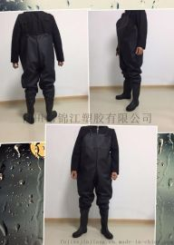 0.65mmPVC/針織標下水褲
