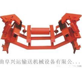 钢胶托辊型输送机配件 加厚防滑式