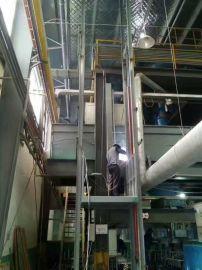 垂直货运升降机重庆启运货梯大吨位载货电梯供应