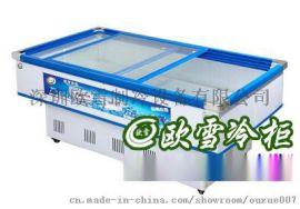 深圳卧式冰鲜柜 1.6米冷藏柜哪里有销售店
