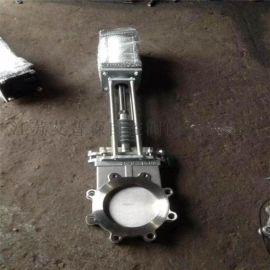 气动高温刀闸阀PZ673H