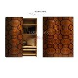 欧式新古典实木衣柜/法式奢华家具/设计师定制家具/意式卧室衣橱