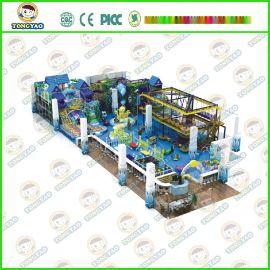 广州厂家供应游乐设备淘气堡 滑梯海洋球池蹦床 室内海洋之星儿童乐园