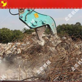 供应挖掘机液压破碎钳 200挖掘机粉碎钳
