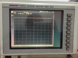 厂家批发进口爱德万R3767CH/8G网络分析仪ADVANTEST