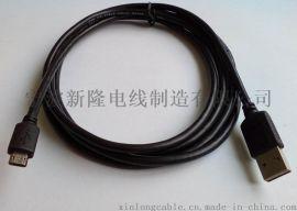雙插USB2.0AM-MICROBM資料連接線