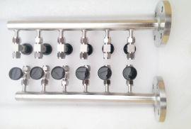 优质304 316不锈钢气源分配器 厂家直销 黄铜空气分配器 价格 规格型号齐全