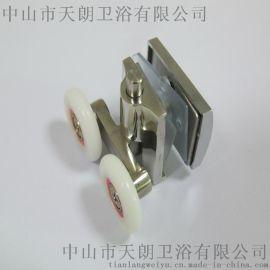 广东淋浴房滑轮制造工厂 卫浴玻璃门窗滑轮 淋浴房五金配件 玻璃门滑轮
