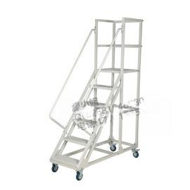 登高车移动平台梯货架梯移动平台梯移动梯子带轮移动平台梯货架梯移动平台梯超市货梯