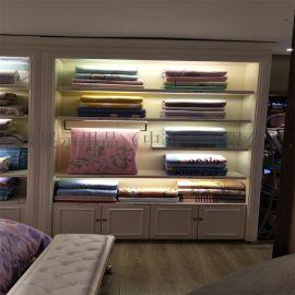 厂家定制箱包展示柜 品牌家纺展示柜 来图定制