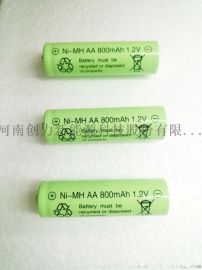 创力1.2V/AA800mAh环保可充电镍氢电池