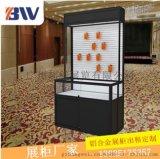 广州邦威铝合金折叠展览橱柜,饰品柜租赁