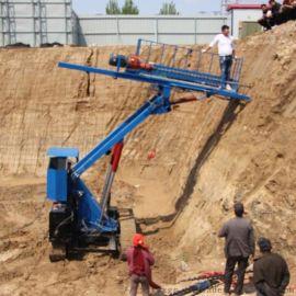 现货强力回转式锚固钻机全液压锚杆钻机护坡钻机