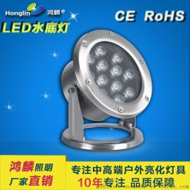 12w大功率水底燈_led水下照明燈具