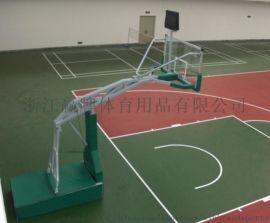 热销北美的新型篮球架