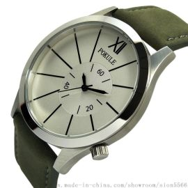 POKULE XJK1803A 不鏽鋼男裝石英手表