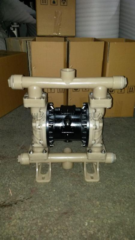 QBY3全氟气动隔膜泵,耐腐蚀气动隔膜泵