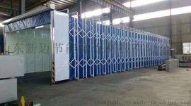 环保移动伸缩喷漆房6米以上配套方案