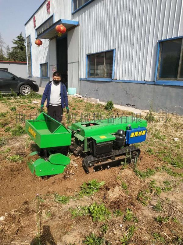 履带式园林管理机,自走式施肥回填机