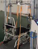 輪椅車檢測設備廠家,正傑牌輪椅車跌落疲勞試驗機